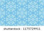 seamless winter texture. frosty ...   Shutterstock .eps vector #1175729911
