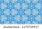seamless winter texture. frosty ...   Shutterstock .eps vector #1175729917