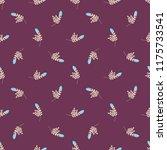 seamless vector ornamental... | Shutterstock .eps vector #1175733541