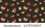 seamless vector ornamental... | Shutterstock .eps vector #1175733547