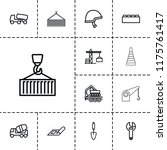 build icon. collection of 13...   Shutterstock .eps vector #1175761417