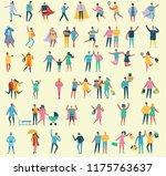 vector illustration in a flat... | Shutterstock .eps vector #1175763637