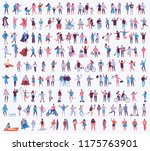 vector illustration in a flat... | Shutterstock .eps vector #1175763901