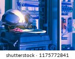 industrial working with safety... | Shutterstock . vector #1175772841