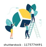 vector illustration  concept of ... | Shutterstock .eps vector #1175774491