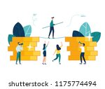 vector illustration  the... | Shutterstock .eps vector #1175774494