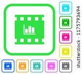 movie statistics vivid colored... | Shutterstock .eps vector #1175793694