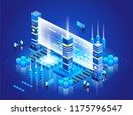 isometric technology concept.... | Shutterstock .eps vector #1175796547
