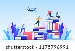 online education. distance... | Shutterstock .eps vector #1175796991