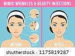 women's anti aging skin care.... | Shutterstock .eps vector #1175819287