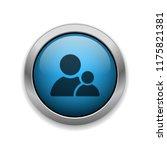 friends   app icon   Shutterstock .eps vector #1175821381
