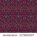 vector damask seamless pattern... | Shutterstock .eps vector #1175833297