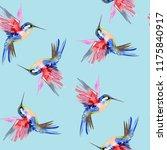 Hummingbird Watercolor...