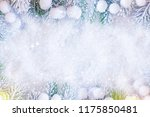 christmas and new year holidays ... | Shutterstock . vector #1175850481