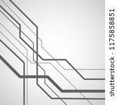 vector lines concept pattern... | Shutterstock .eps vector #1175858851