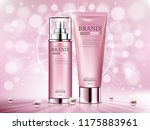 cosmetic ads template ... | Shutterstock .eps vector #1175883961