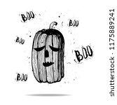halloween  grunge style  scary...   Shutterstock .eps vector #1175889241