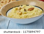 gurer payesh  rice pudding ... | Shutterstock . vector #1175894797