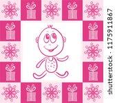 baby girl. vector illustration | Shutterstock .eps vector #1175911867