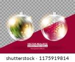christmas tree decoration.... | Shutterstock .eps vector #1175919814
