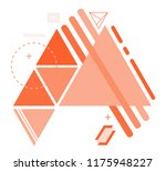 abstract triangle background... | Shutterstock .eps vector #1175948227