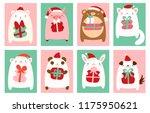 christmas banner  background ... | Shutterstock .eps vector #1175950621