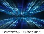 perspective geomteric... | Shutterstock . vector #1175964844