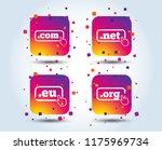 top level internet domain icons.... | Shutterstock .eps vector #1175969734