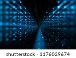 3d illustration. data storage... | Shutterstock . vector #1176029674