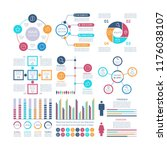 infographic elements. modern... | Shutterstock .eps vector #1176038107