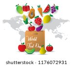 world food day food day... | Shutterstock .eps vector #1176072931