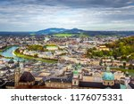 scenic view opening from... | Shutterstock . vector #1176075331