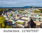 scenic view opening from... | Shutterstock . vector #1176075337