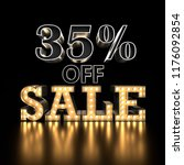 35  off sale text background.... | Shutterstock . vector #1176092854