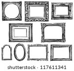 collection of frames | Shutterstock . vector #117611341