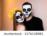 Girl Skeleton. Sugar Skull. A...