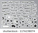 handdrawn bullet journal...   Shutterstock .eps vector #1176158074