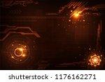 vector background in the... | Shutterstock .eps vector #1176162271