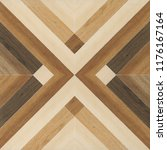 fragment of parquet floor... | Shutterstock . vector #1176167164