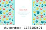 Stock vector pet advertising banner templates place for text veterinary clinic and zoo shop design layout 1176183601