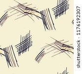 various hatches. seamless... | Shutterstock .eps vector #1176192307