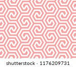 abstract geometric pattern with ... | Shutterstock .eps vector #1176209731