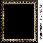 decorative frame elegant vector ... | Shutterstock .eps vector #1176209734