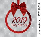 new year banner in the form of... | Shutterstock .eps vector #1176210031