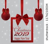 new year banner in the form of... | Shutterstock .eps vector #1176210034