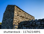 old stone barn in the yorkshire ... | Shutterstock . vector #1176214891