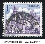 spain   circa 1985  stamp... | Shutterstock . vector #117622444