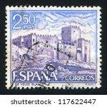 spain   circa 1969  stamp... | Shutterstock . vector #117622447