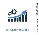 efficiency increase graphic... | Shutterstock .eps vector #1176250864