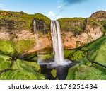 iceland waterfall nature travel ... | Shutterstock . vector #1176251434